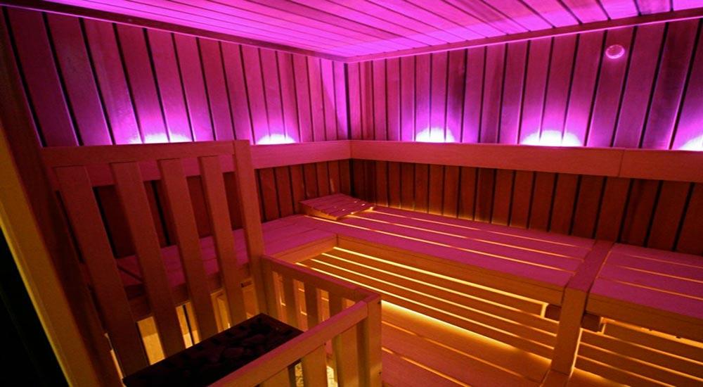Sauna Innenbeleuchtung Sauna Licht Sternenhimmel
